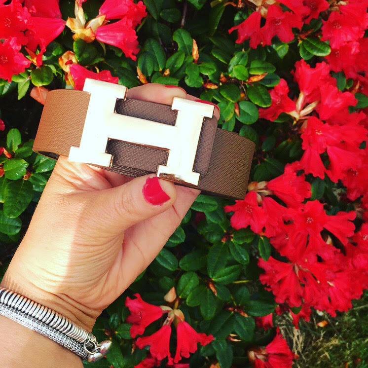 Brown H Belt