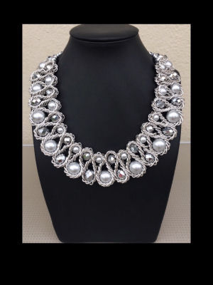 The Sally Silver  Necklace